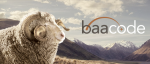 baacode image with a sheep